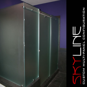 And shower enclosures with sandblasted windows and door glass - The Many Options Of Frameless Frosted Glass Shower Doors